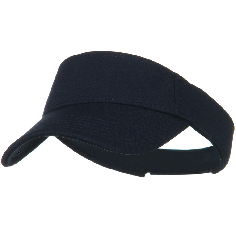 Cool Comfort Polyester Cool Mesh Sun Visor - Navy - Hats and Caps Online Shop - Hip Head Gear