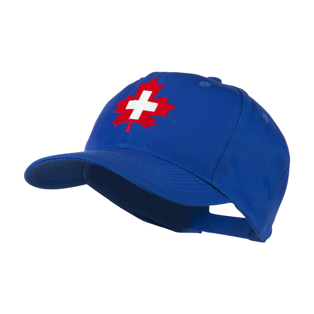 Canada's EMT Medical Maple Leaf Embroidered Cap - Royal - Hats and Caps Online Shop - Hip Head Gear