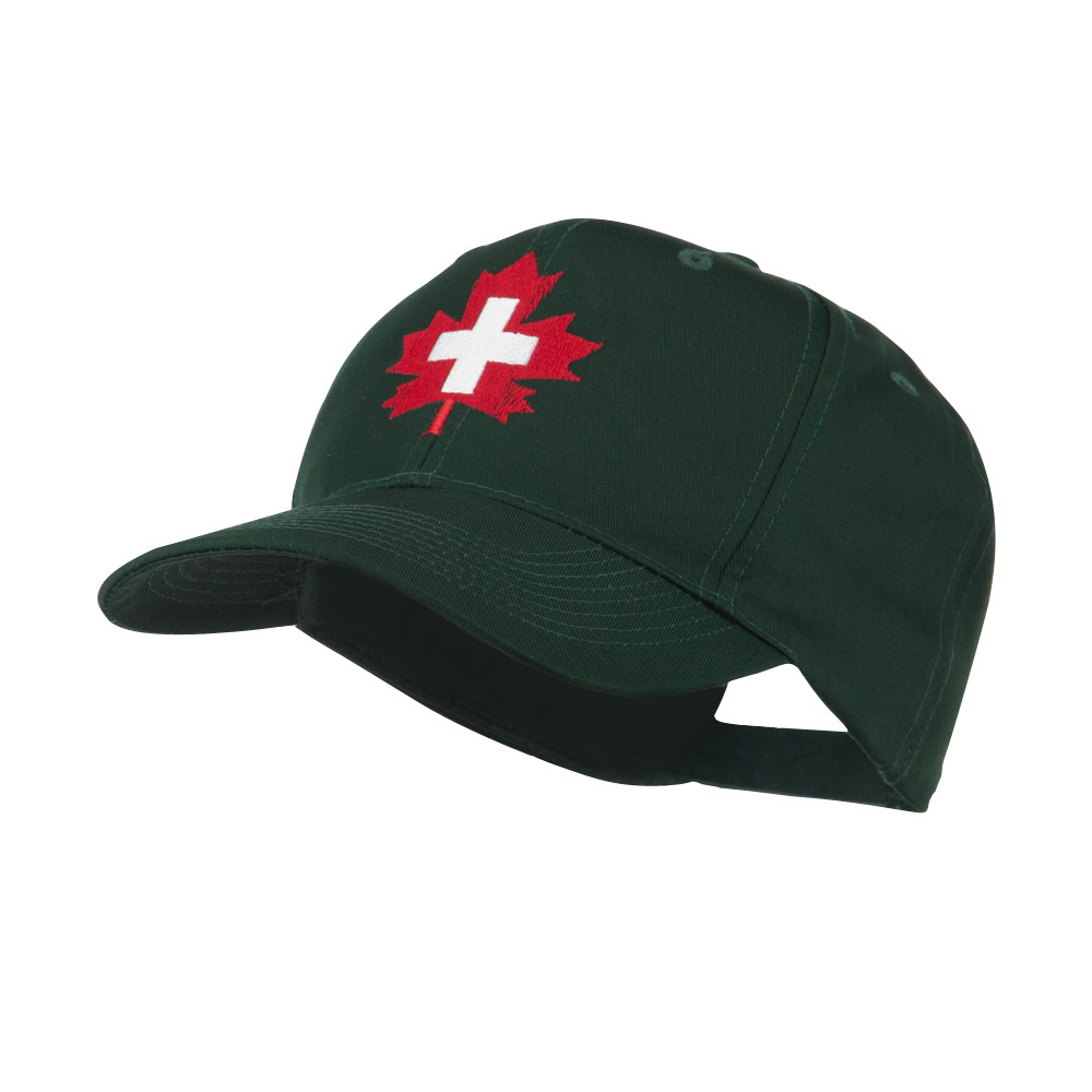 Canada's EMT Medical Maple Leaf Embroidered Cap - Green - Hats and Caps Online Shop - Hip Head Gear