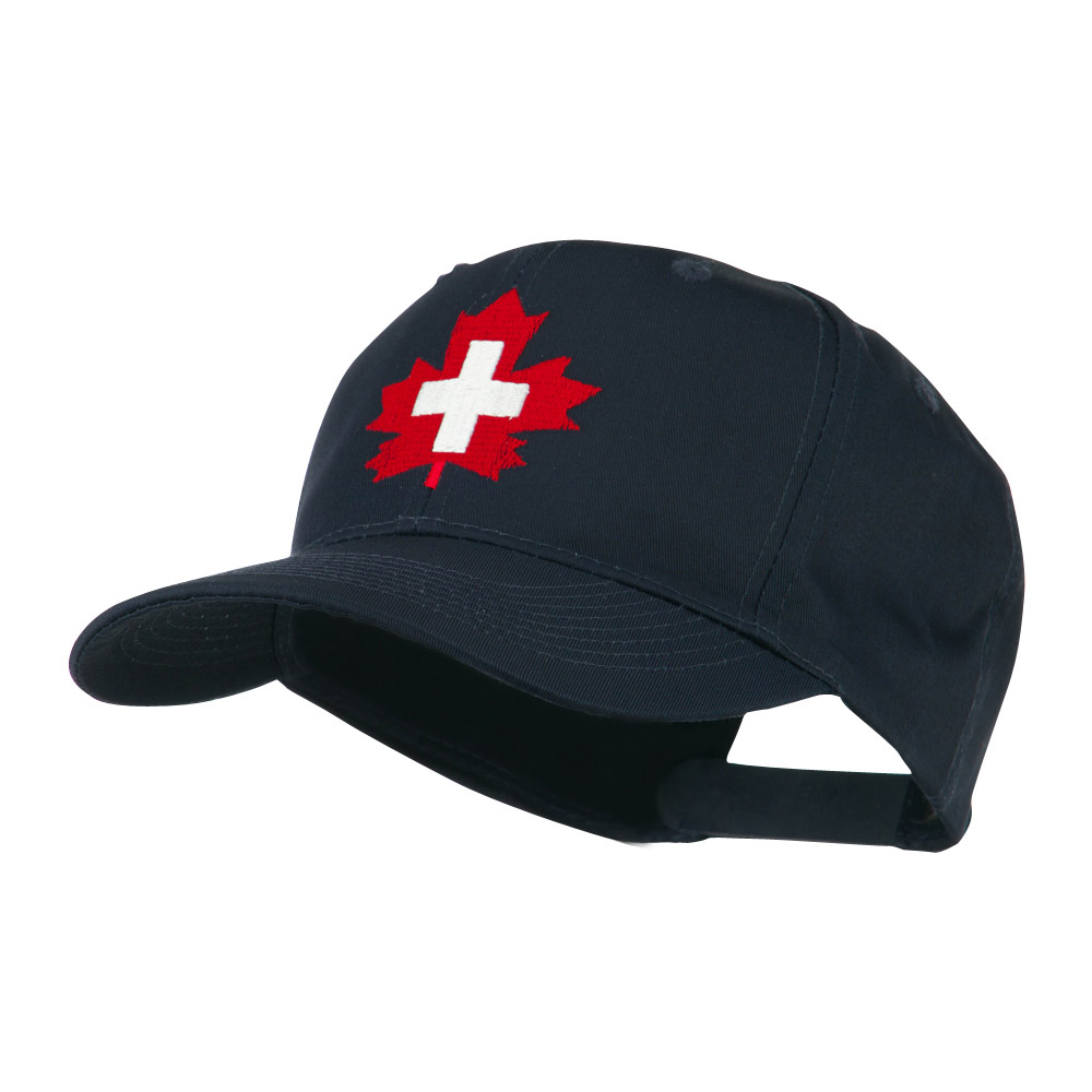 Canada's EMT Medical Maple Leaf Embroidered Cap - Navy - Hats and Caps Online Shop - Hip Head Gear