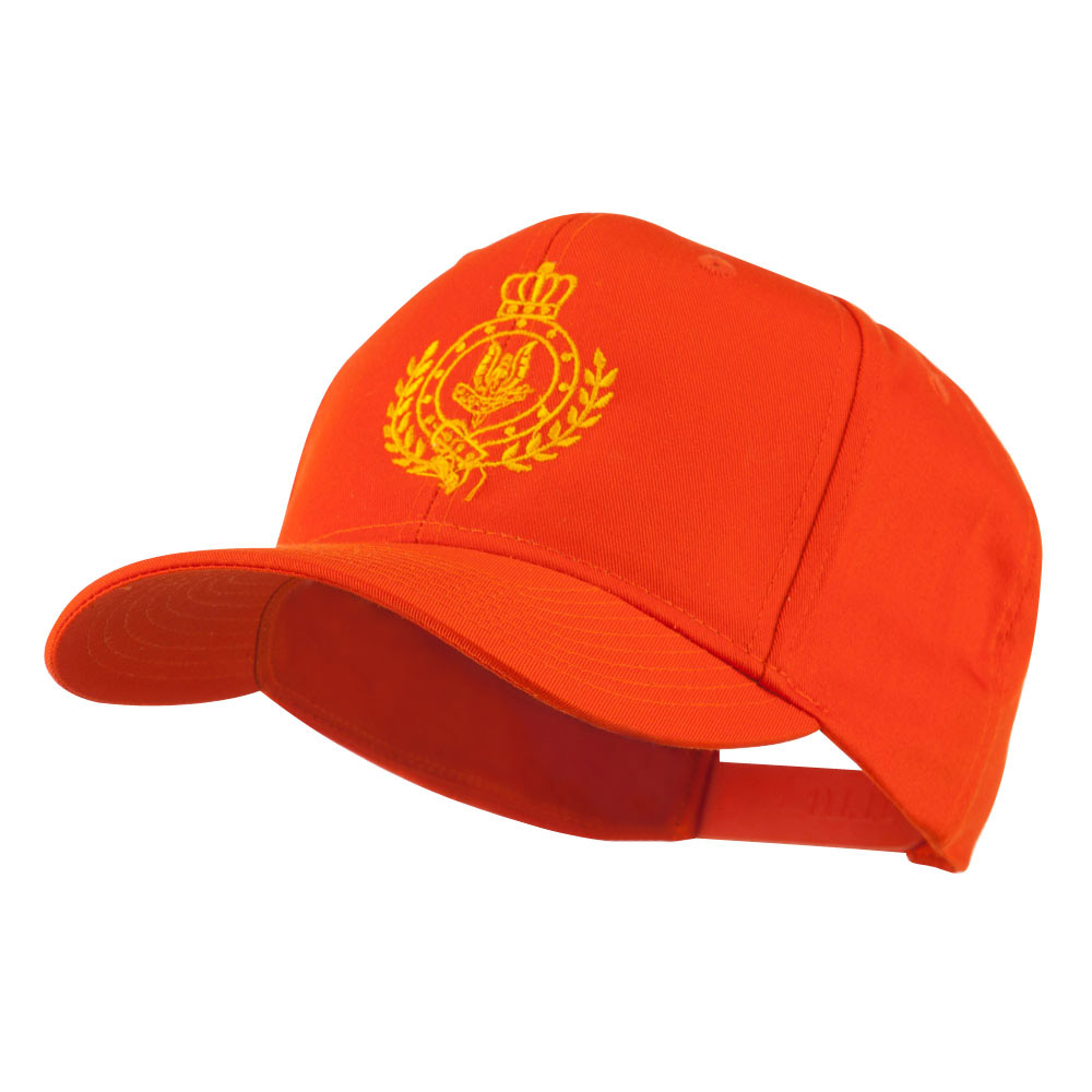 Canadian Air Force Badge Outline Embroidered Cap - Orange - Hats and Caps Online Shop - Hip Head Gear