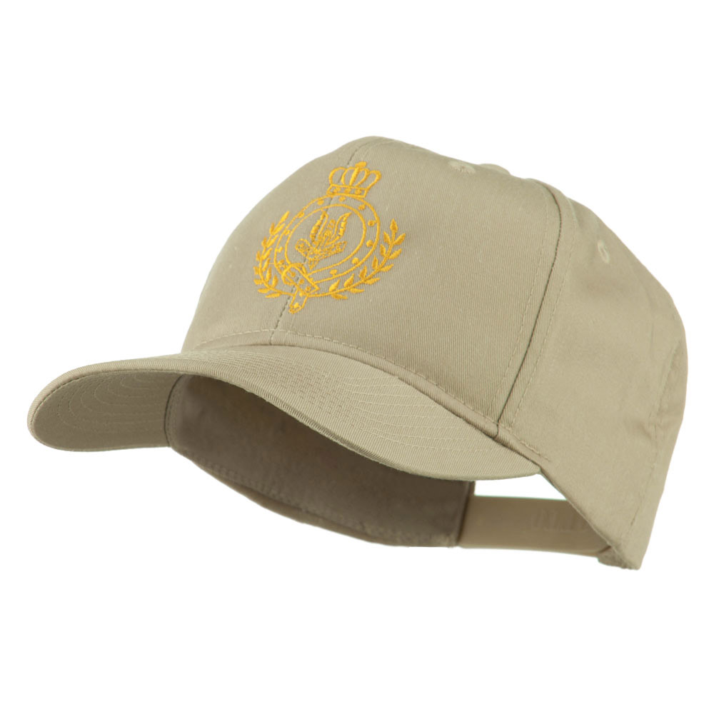 Canadian Air Force Badge Outline Embroidered Cap - Khaki - Hats and Caps Online Shop - Hip Head Gear