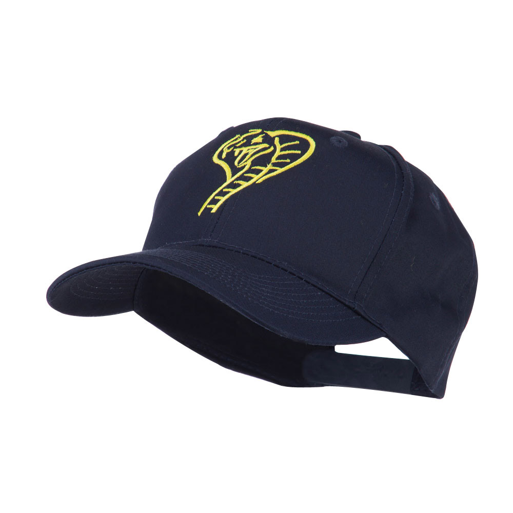 Cobra Embroidered Cap - Navy - Hats and Caps Online Shop - Hip Head Gear