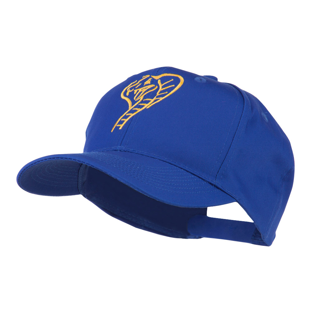 Cobra Embroidered Cap - Royal - Hats and Caps Online Shop - Hip Head Gear
