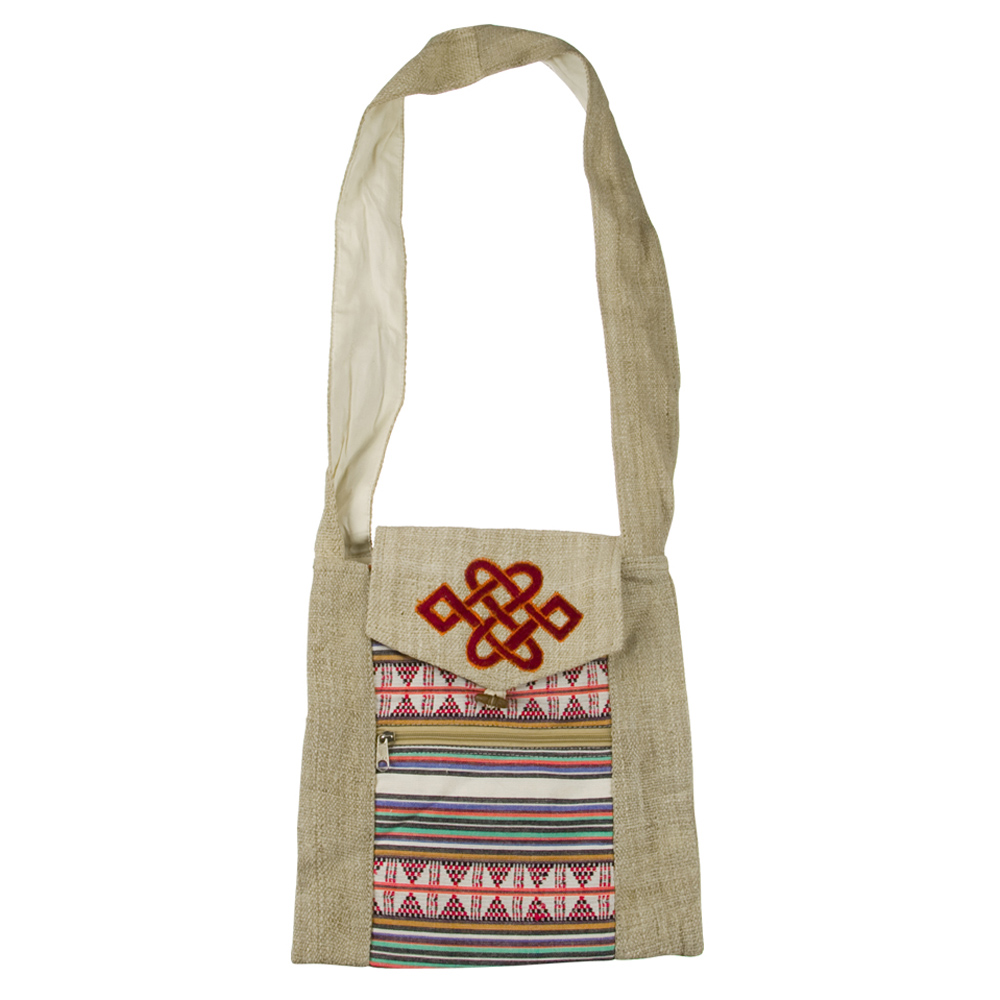 Natural Patch Bag
