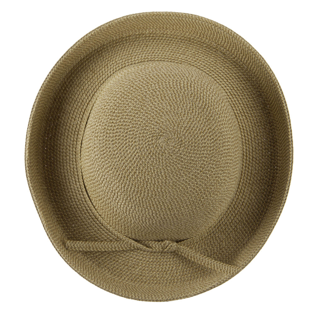 UPF 50+ Cotton Paper Braid Med Kettle Brim Hat - Tan Tweed - Hats and Caps Online Shop - Hip Head Gear