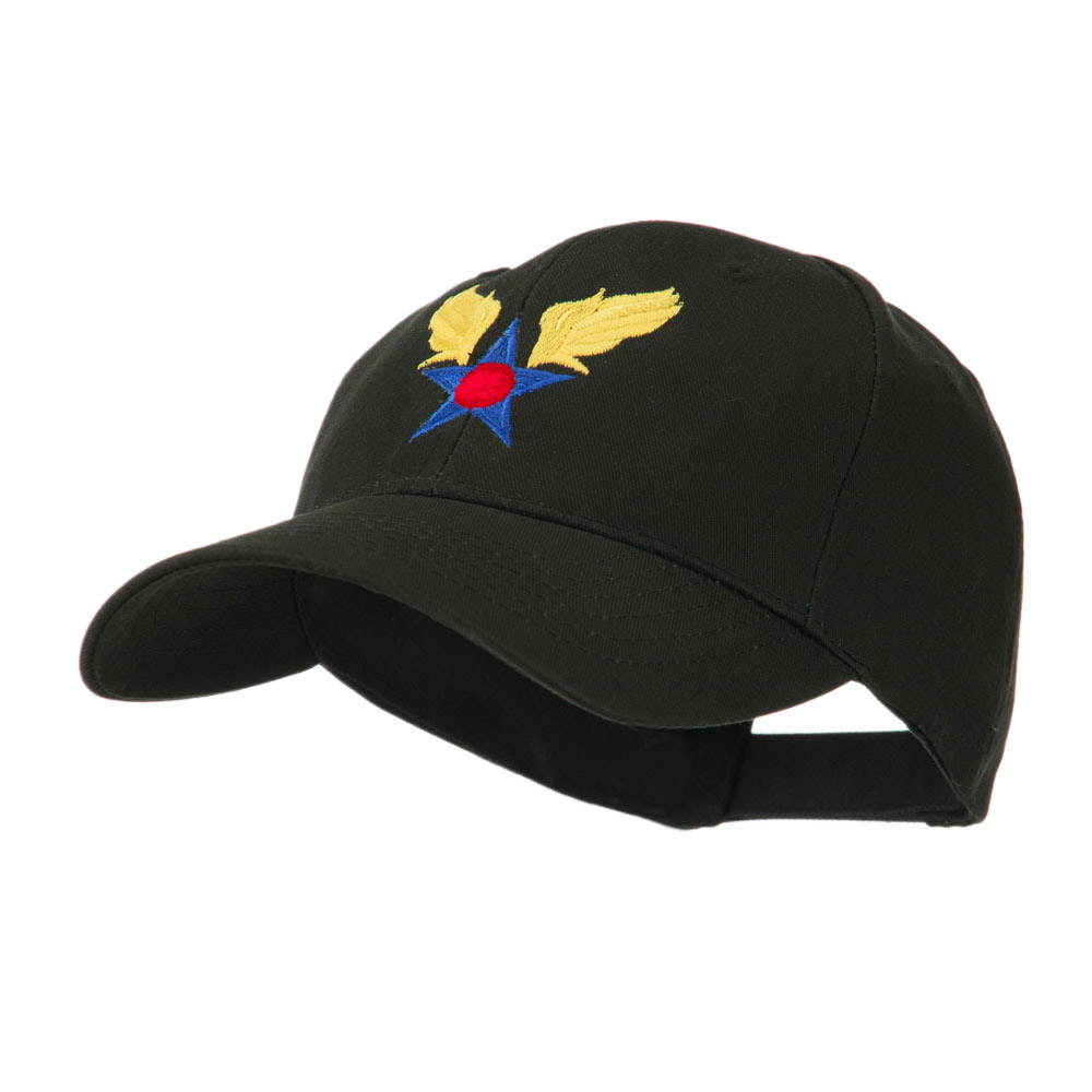 Army Air Corps Military Embroidered Cap - Black - Hats and Caps Online Shop - Hip Head Gear