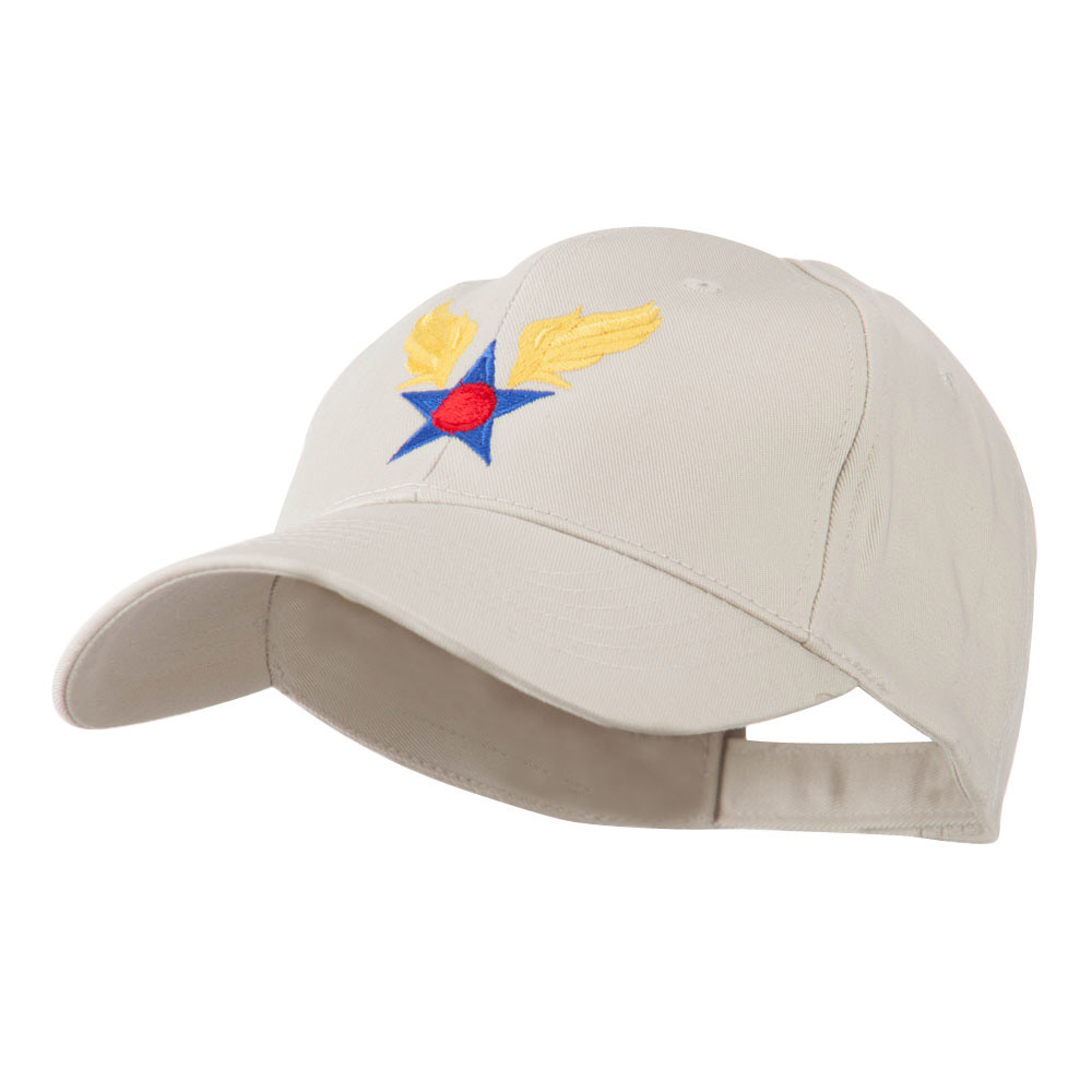 Army Air Corps Military Embroidered Cap - Stone - Hats and Caps Online Shop - Hip Head Gear