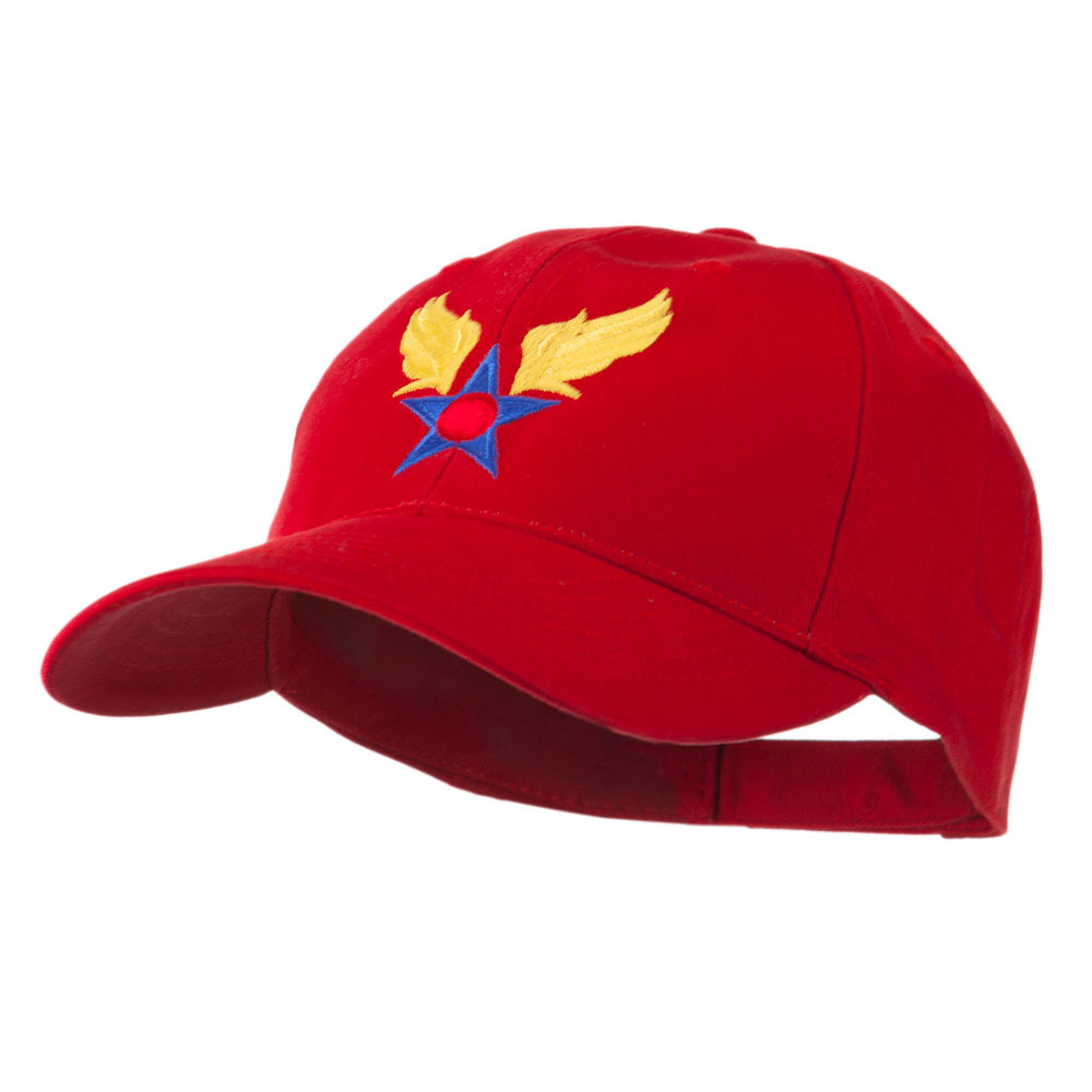 Army Air Corps Military Embroidered Cap - Red - Hats and Caps Online Shop - Hip Head Gear
