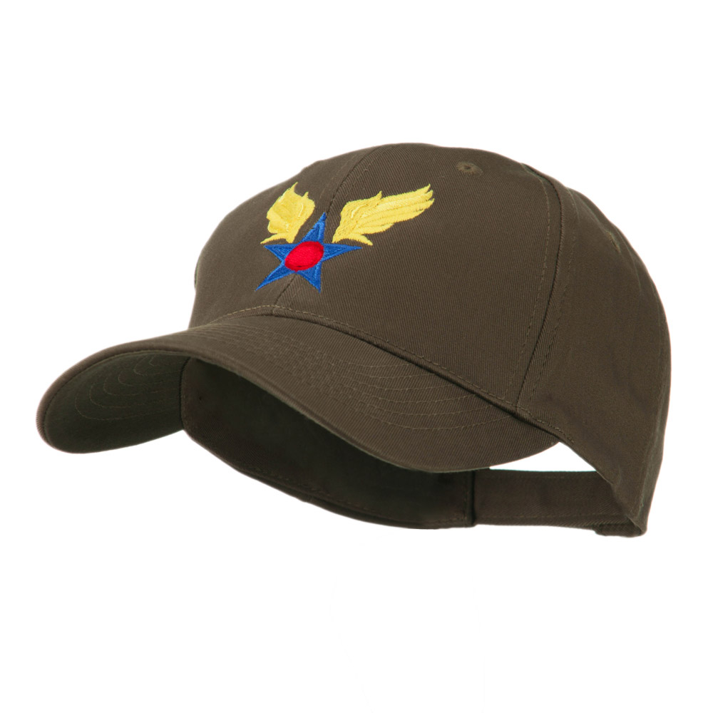 Army Air Corps Military Embroidered Cap - Brown - Hats and Caps Online Shop - Hip Head Gear