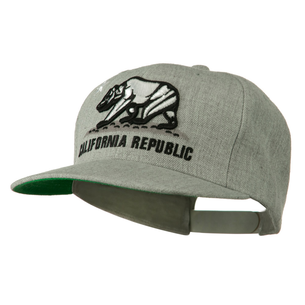 California Republic Cap - Grey - Hats and Caps Online Shop - Hip Head Gear