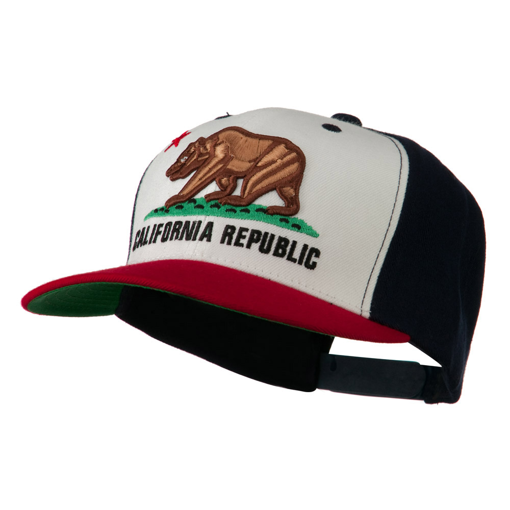 California Republic Cap - Red White Navy - Hats and Caps Online Shop - Hip Head Gear