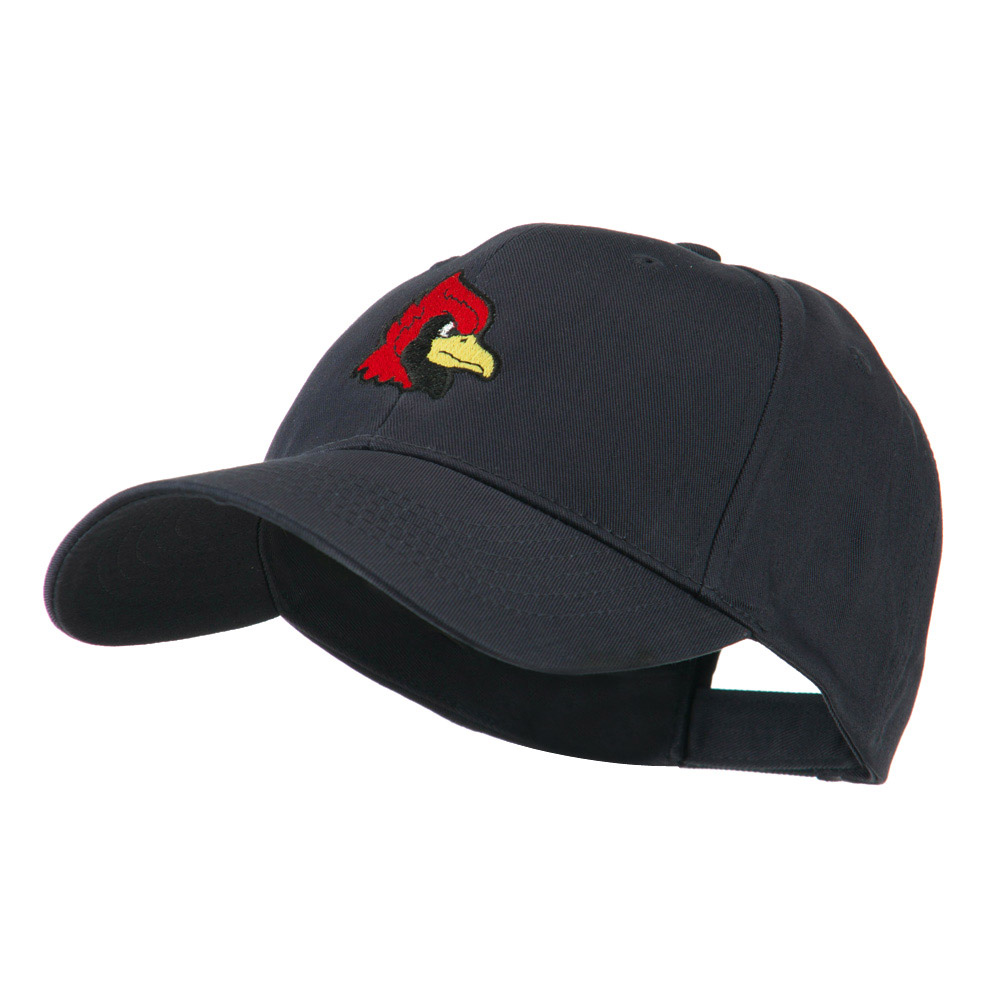 Cardinal Head Mascot Embroidered Cap - Navy - Hats and Caps Online Shop - Hip Head Gear