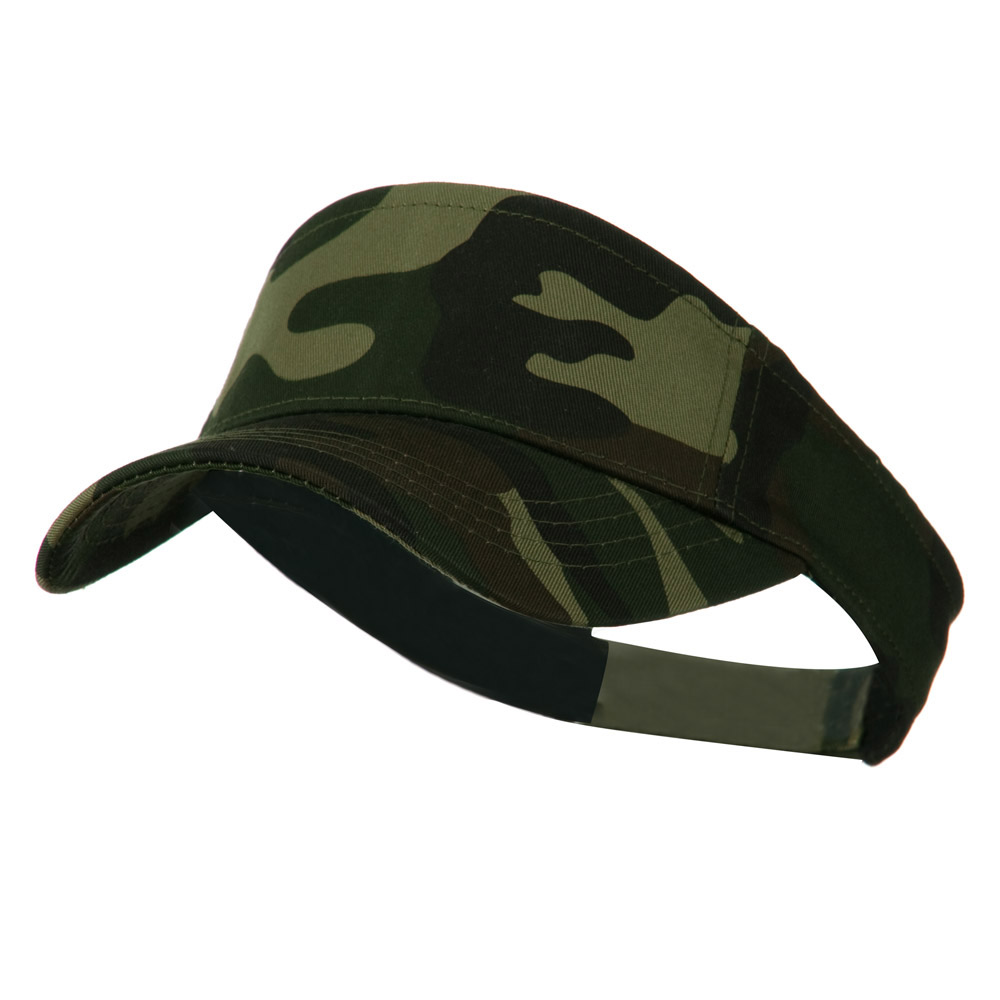 Camouflage Sports Visor - Forest - Hats and Caps Online Shop - Hip Head Gear