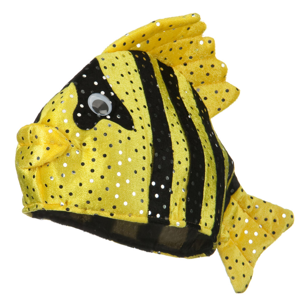 Fish Novelty Hat - Yellow Black - Hats and Caps Online Shop - Hip Head Gear