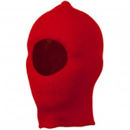 Kid's One Hole Superstretch Mask - Red