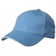 Jersey 6 Panel Athletic Mesh Cap-Blue