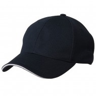 Jersey 6 Panel Athletic Mesh Cap-Navy