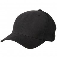 Brushed Cotton Caps (one size)-Charcoal