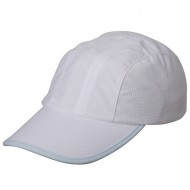 Knitted Casual Cap-White Lt. Blue