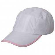 Knitted Casual Cap-White Lt. Pink