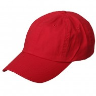 Normal Dyed Cap (02)-Red