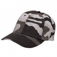 Enzyme Washed Camo Cap-City