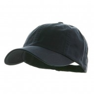 Low Profile Dyed Cotton Twill Cap - Navy