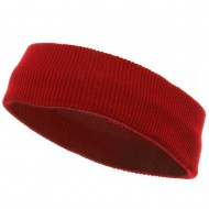 Head Bands (wide)-Red