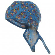 Flame Series Headwrap-Small Blue