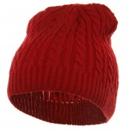 Twister Skully Beanie - Red