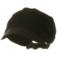 Ladies Jacquard Mesh Hat - Black
