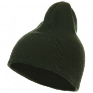 Cotton Classic All Ages Beanie - Forest Green
