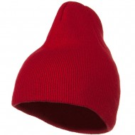 Cotton Classic All Ages Beanie - Red