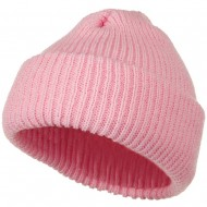 Heavy Weight Watch Cap Beanie - Pink