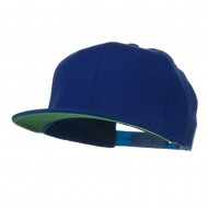 Wool Blend Prostyle Snapback Cap - Royal