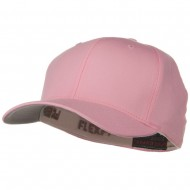 Wooly Combed Twill Flexfit Cap-Pink