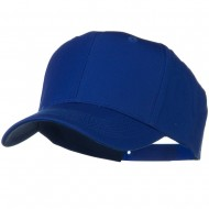 Solid Cotton Twill Pro Style Cap - Royal