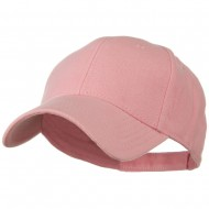 Comfy Cotton Pique Knit Low Profile Cap - Pink