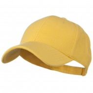 Comfy Cotton Pique Knit Low Profile Cap - Maize