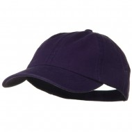 Deluxe Garment Washed Cotton Twill Cap - Purple