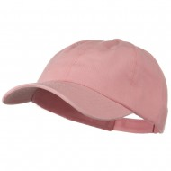 Deluxe Garment Washed Cotton Twill Cap - Soft Pink
