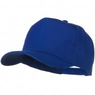 Solid Cotton Twill Pro style Golf Cap - Royal