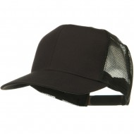 Solid Cotton Twill Mesh Prostyle Cap - Charcoal
