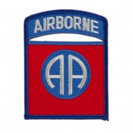 Air Borne Embroidered Military Patch - 82nd