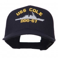 USS Navy Arleigh Burke Class Destroyer Military Cap - DDG67