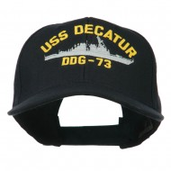 USS Navy Arleigh Burke Class Destroyer Military Cap - DDG73