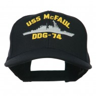 USS Navy Arleigh Burke Class Destroyer Military Cap - DDG74