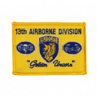 Air Borne Embroidered Military Patch - 13th Airborne