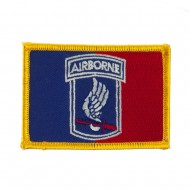 Air Borne Embroidered Military Patch - 173rd 2